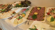 Buffet, Catering Stock Footage