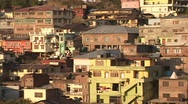 Stock Video Footage of A Tibet style village clings to the mountainside in Dharamsala, India.