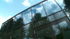Glass Front  Stock Footage