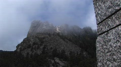 Faces of the Presidents at Mt Rushmore in South Dakota Stock Footage