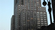 The Empire State Building is a spectacular sight in the heart Stock Footage