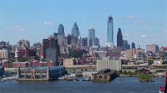 Philadelphia, Pennsylvania at day. Stock Footage