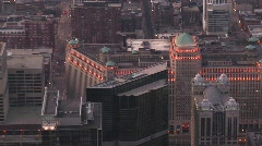 Chicago's landmark Merchandise Mart Stock Footage