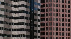 Stock Video Footage of Two high-rise buildings
