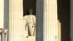 Lincoln Memorial in Washington, DC Stock Footage