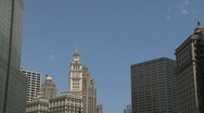 Buildings Chicago Stock Footage