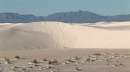 Stock Video Footage of Sand dunes at White Sands National Monument in New Mexico