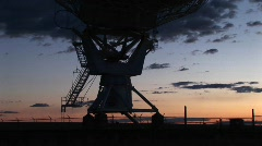 The National Radio Astronomy Observatory in New Mexico Stock Footage