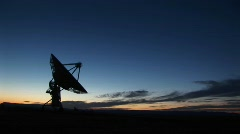 National Radio Astronomy Observatory in New Mexico Stock Footage
