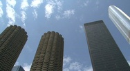 Skyscrapers Chicago Stock Footage