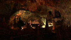 Carlsbad Caverns National Park in New Mexico Stock Footage