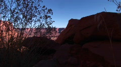 White Rim Road in Canyonlands National Park near Moab, Utah Stock Footage