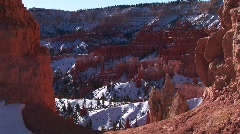 Claron Formations of Bryce Canyon National Park Stock Footage