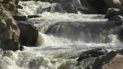Kern River in the Sierra Nevada Mountains Stock Footage