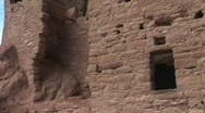 Stock Video Footage of Native American cliff dwellings at Mesa Verde National Park