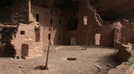 Stock Video Footage of Native American cliff dwellings in Mesa Verde National Park