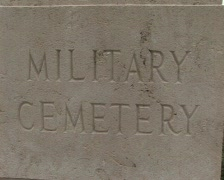 Stone military cemetery Stock Footage