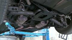 Car in Repair Stock Footage