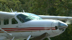 Float Plane at dock (3 of 5) - stock footage