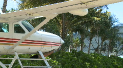 Float Plane at dock (4 of 5) Stock Footage