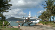 Stock Video Footage of Float Plane at dock (2 of 5)