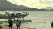 Stock Video Footage of Float Plane on beach (1 of 3)