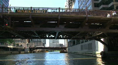 Chicago River Stock Footage