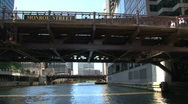 Stock Video Footage of Chicago River
