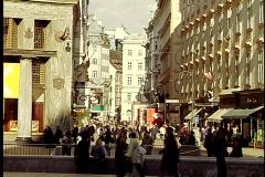 Vienna Street Stock Footage