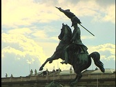 Stock Video Footage of Vienna Statue 6