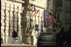 Vienna Statue 14 Stock Footage