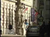 Stock Video Footage of Vienna Statue 14