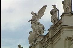 Vienna Statue 19 Stock Footage