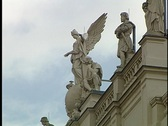 Stock Video Footage of Vienna Statue 19
