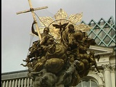 Stock Video Footage of Vienna Statue 23