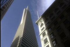 Trans America building Stock Footage