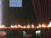 Candles on Altar 2 Stock Footage