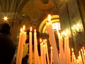 Stock Video Footage of Candles on Alter 4
