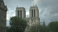 Stock Video Footage of Notre Dame