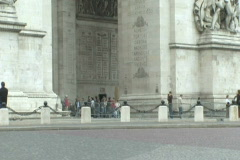 Arc de Triumph 2 - stock footage