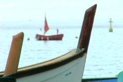 Italian Boats 1 Stock Footage