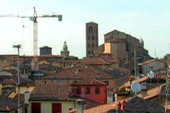 Italian Roof Tops 1 Stock Footage