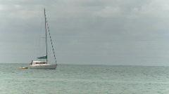 Sailboat (2 of 3) Stock Footage