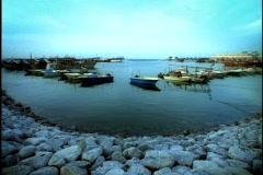 Kuwaitee harbor 2 Stock Footage