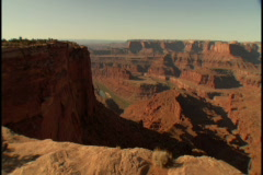 Dead Horse Point 1 Stock Footage