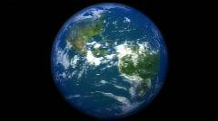 Db earth 30 hd1080 orbit moon Stock Footage