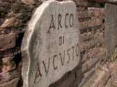 Rome Sign Stock Footage