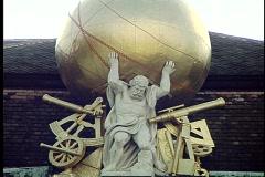 Vienna Statue 7 Stock Footage