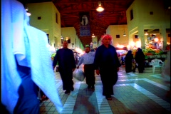 People in marketplace 2 Stock Footage
