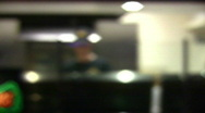 Stock Video Footage of Pizza tossing out of focus HD